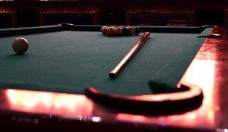 Professional pool table setup in Asheville content img2